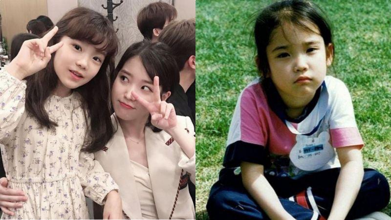「把IU童年照跟她对比真的傻傻分不清~」金奎丽被称为IU御用童星:完成型美貌让人羡慕!