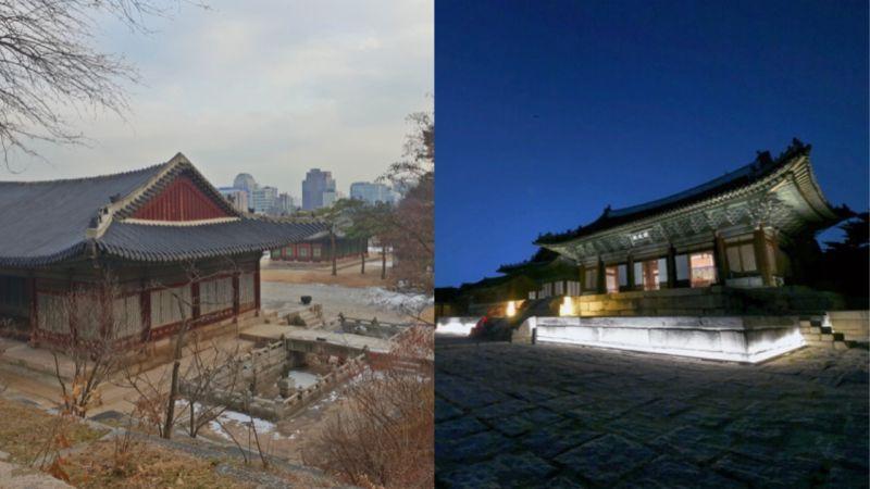 2019年開始可以夜遊昌慶宮!不再需要預約,就可以在夜晚漫步昌慶宮~