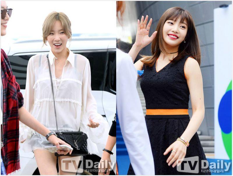 SM娛樂前、後輩少時太妍和RV Joy 成為V APP新功能的「受害者」?