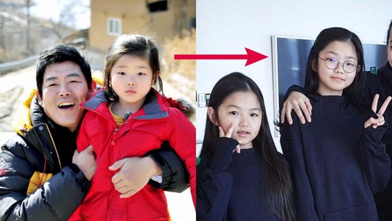 成东镒女儿彬儿、律儿暴风成长...还记得《爸爸!我们去哪里?》时期的她们吗?