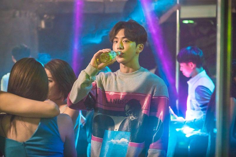 MBC新剧《举重妖精金福珠》南柱赫夜店自体发光剧照公开