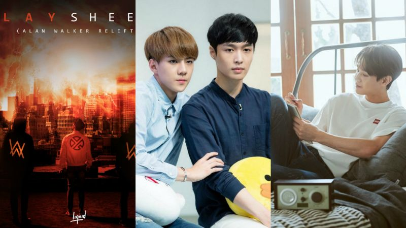LAY联手Alan Walker合作新单曲!世勋为其应援 梁耀燮盼EXO能出演自己主持的电台