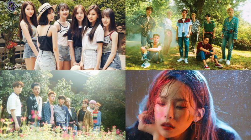韓國音源榜競爭激烈 EXO、GFriend、HEIZE爭搶一位