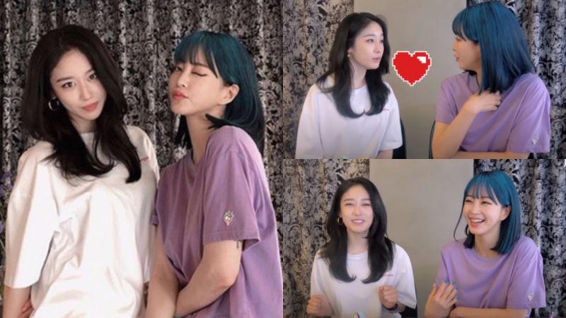 美人的旁邊還是美人!智妍和韓藝瑟互相稱讚「看到漂亮的人就是開心」