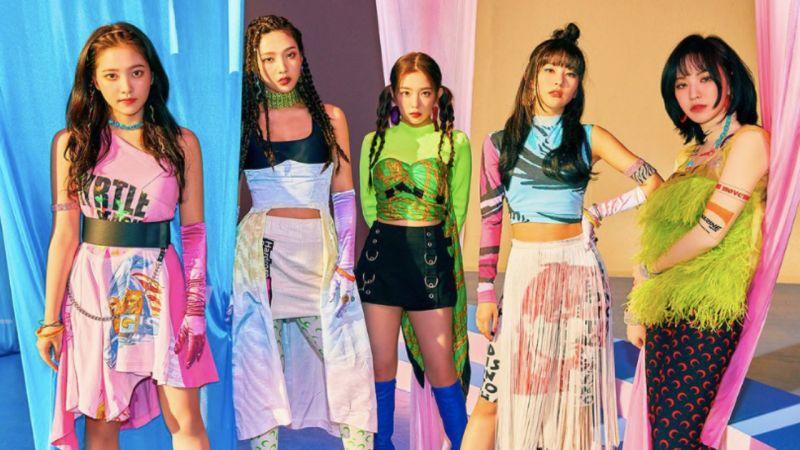 Red Velvet Joy贴身热舞谁能招架得住?姐姐Irene吓得闭眼扭头尖叫XD