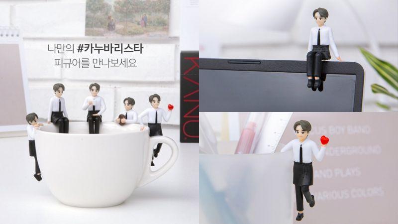 KANU真的推出孔劉「杯緣子」啦!快把歐爸帶回家,掛在桌子、電腦、杯子上等都可以!