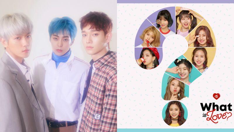 4 月第三周榜單出爐⋯EXO-CBX、TWICE 分占鰲頭!