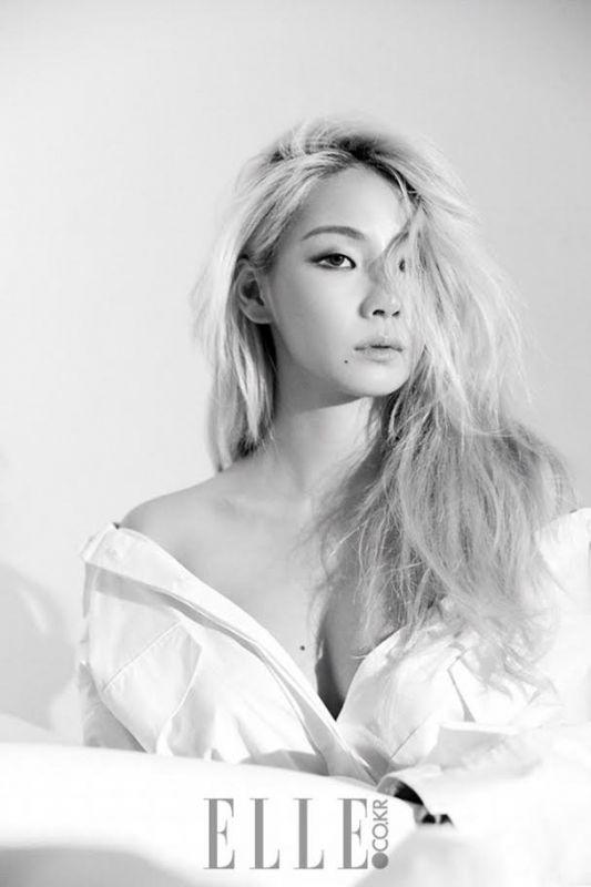 CL淡妆登杂志 女皇霸气依旧