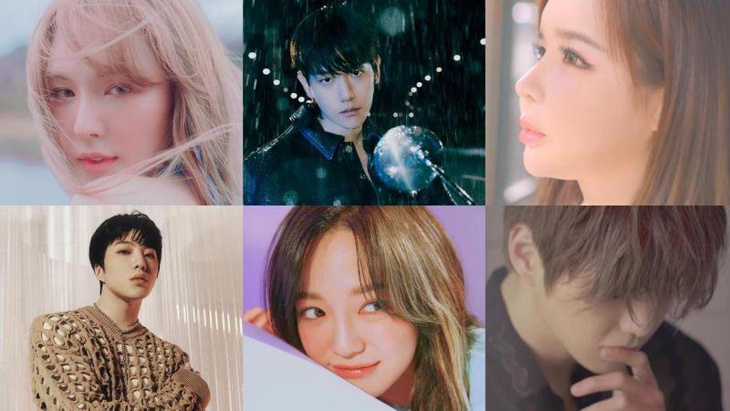 好歌听不完!三月底~四月份即将回归的韩国Solo人气歌手居然多达13位!