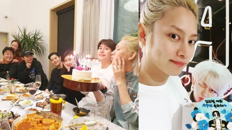 SJ希澈與圭賢、白種元等一同歡度出道15週年!網友:「《新西遊記》裡圭賢沒能答出來的2位女藝人也在」