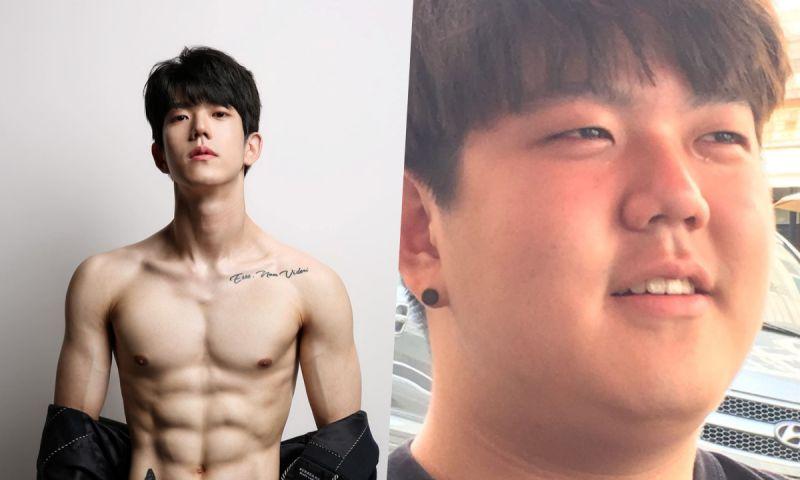 八块腹肌出现!South Club鼓手李东漌甩肉90斤:「拍出了做梦都没想过的照片」
