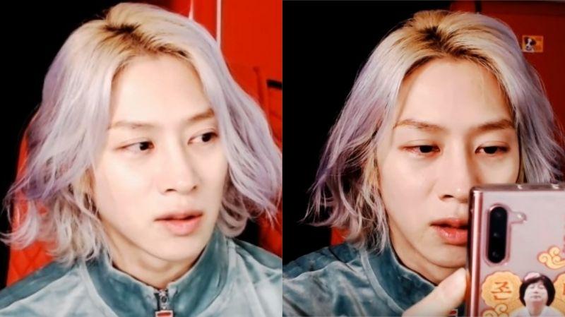 尽管已经通过公司澄清…他又亲上火线、通过直播表示:「我永远是Super Junior的金希澈」