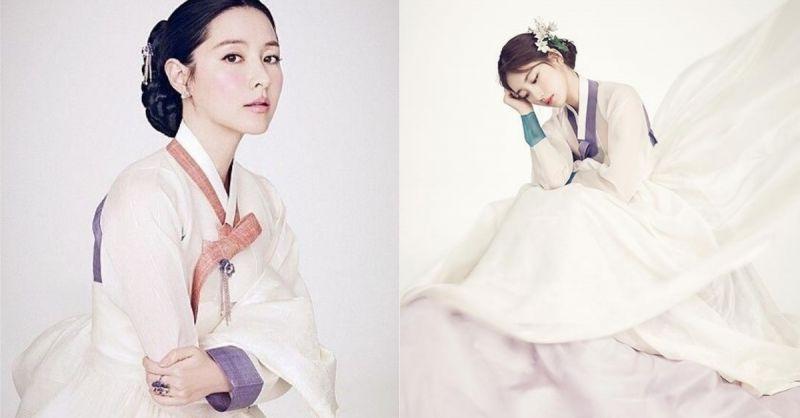 根本时空穿越!整身韩服也超适合的女星,秀智更是成为首位的韩服封面!