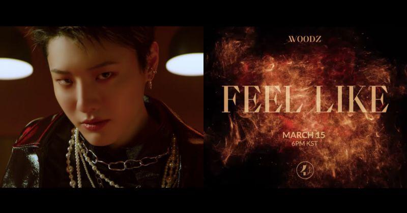 WOODZ 最新主打歌 MV 预告片长达 1 分钟!强劲节奏结合精彩特效