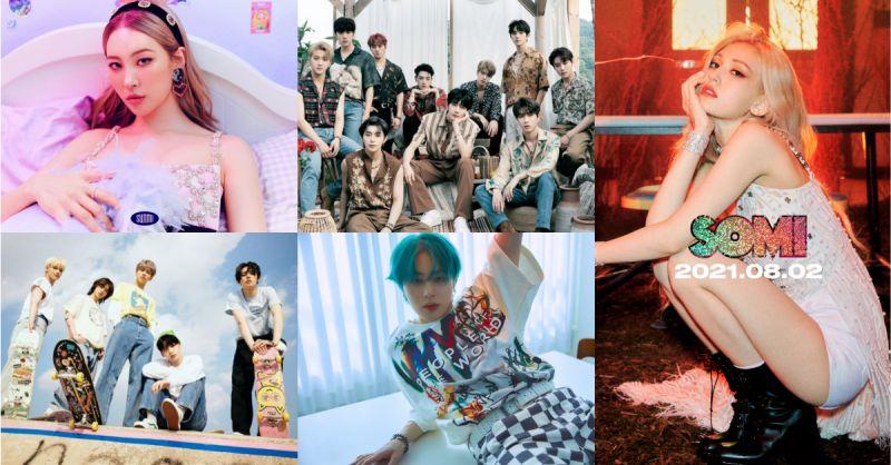 【8月回归懒人包】20组韩流人气偶像solo & 团体大乱斗!历代级精彩的 KPOP 战场诞生