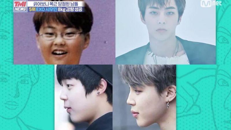 减肥成功的6位男歌手特辑,最多瘦了30kg真的太让人佩服啦!