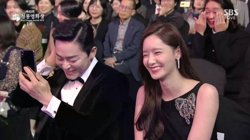 【第40屆青龍電影節】曹政奭和潤娥被《極限逃生》導演的嚴重口誤逗笑XD