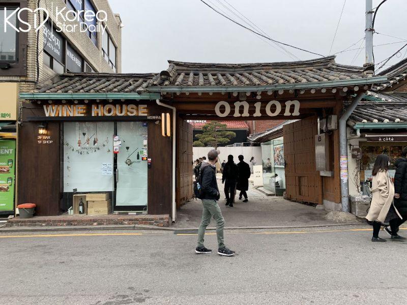 【安国Cafe】Café onion安国店:休闲地坐在韩屋中享受著下午茶!