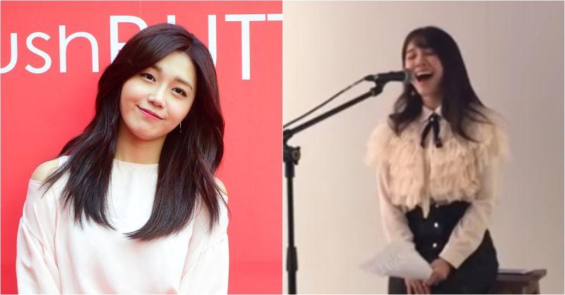 郑恩地也疯《鬼怪》 Cover OST《像初雪一样靠近你》