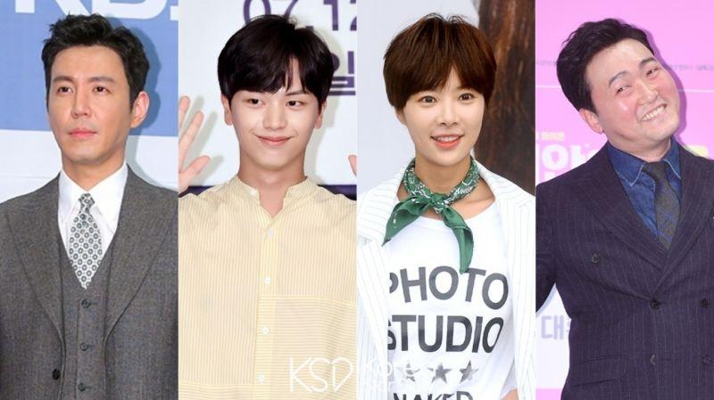 JTBC新漫改剧《双室小吃摊》出演阵容:黄正音、陆星材、崔元英、李准赫确定合作!