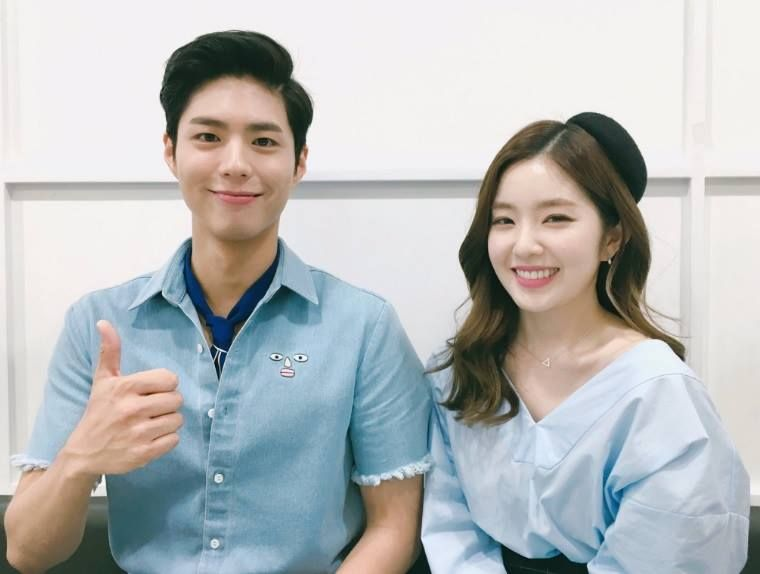 《Music Bank》朴寶劍&Irene 於24日進行最後一次合作主持