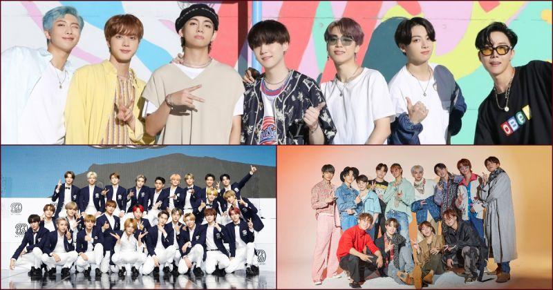 【男团品牌评价】金三角BTS防弹少年团、NCT、SEVENTEEN 持续称霸前三名!