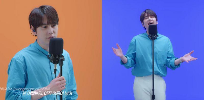 美聲精靈SJ圭賢連唱20分鐘宛如小型演唱會,第一首歌就讓人眼眶泛淚!TAT