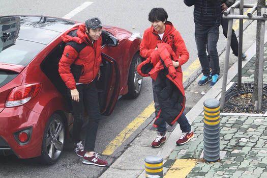 李昇基參與錄制《RUNNING MAN》現場照曝光