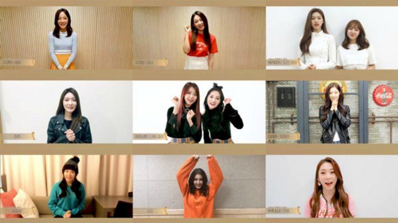 《Produce101》友情Forever!I.O.I成員為金昭希送上出道祝賀視頻