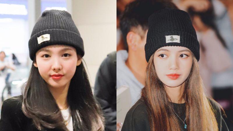 【机场私服时尚】TWICE娜琏和BLACKPINK LISA戴过同款针织帽,酷帅拉风!