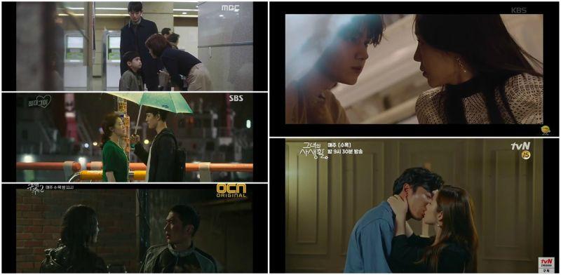 韓劇  本週無線、有線水木收視概況- 僅一次愛情開紅盤,私生活終於開船了