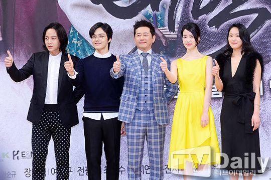 《大撲》發佈會:呂珍九再演王子展不同霸氣