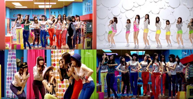 继《I GOT A BOY》后 少女时代《Gee》MV突破两亿!