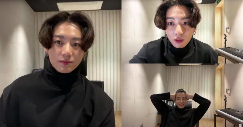 太期待啦!柾國參與BTS防彈少年團新歌 MV 拍攝工作「希望 ARMY 喜歡」
