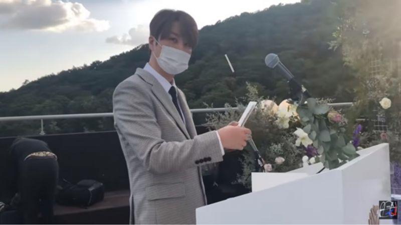 JunJin婚礼Eric只拍申彗星耳朵!兄弟互动也超甜:什么你的我的,你的就是我的