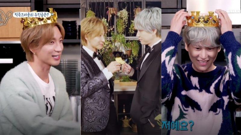 【有片】《特圭returns》利特、圭贤抢当「SJ料理王」!MC:真的是在用「嘴」做料理啊~