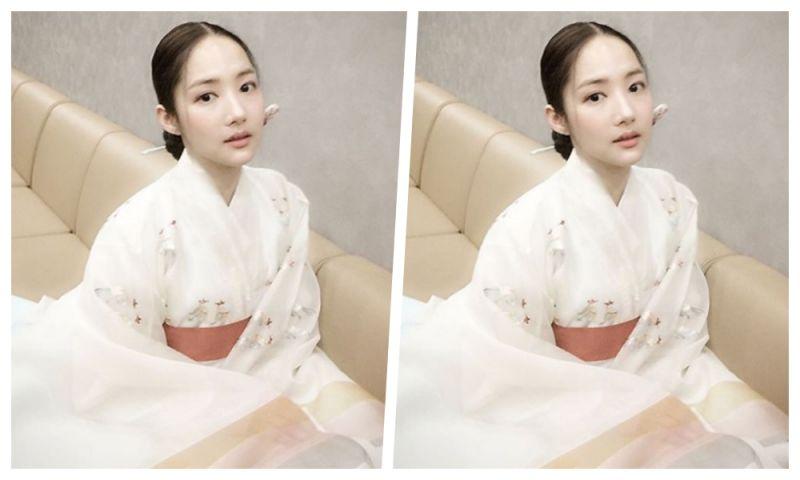 朴敏英晒《七日的王妃》古装照 这么美的王妃见过吗?