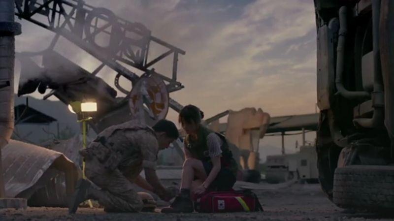 (第6集)《太陽的後裔》傷者死亡了就必須宣布死亡 因為你是醫生...