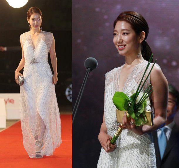 《51屆百想藝術大賞》朴信惠連續5年獲得百想人氣賞  創下紀錄