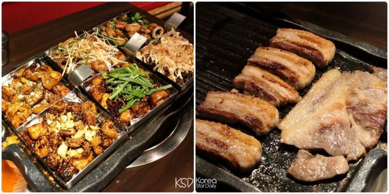 首爾、大邱、釜山都有,《炭末酒》6種烤腸+4種烤肉超平價吃到飽!