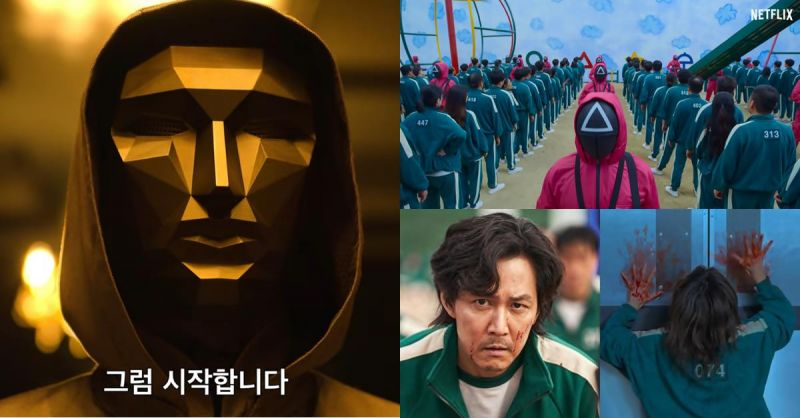 韓國超人氣生存Game電視劇《魷魚遊戲》連影帝李政宰也換上綠色運動服展開大逃亡!