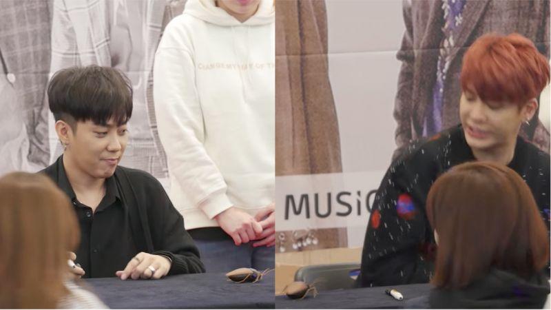 殷志源在簽售會上用遙控蟑螂嚇成員!他完全被嚇到,差點跳了起來還在現場大叫!