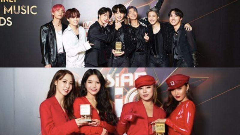 《2018 MAMA FANS' CHOICE in JAPAN》BTS防彈少年團奪4獎,全球年度最佳ICON實至名歸!