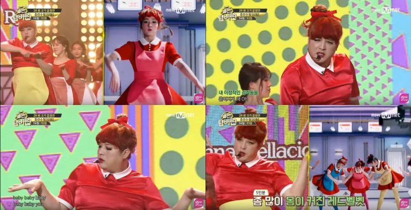 《黃金鈴鼓》SJ神童挑戰師妹Red Velvet《Dumb Dumb》!現場氣氛相當熱烈