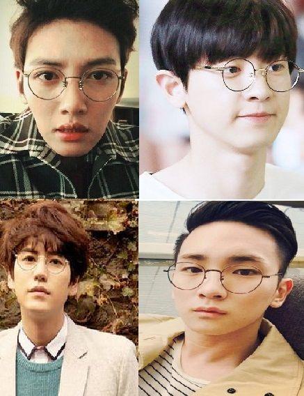 韓系造型必備,圓框眼鏡大家擁有了嗎?(男生篇2)
