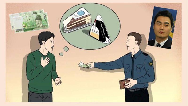 韩国善良警察遇上待业中一时起歹念的青年,他做的举动真的是超暖心~