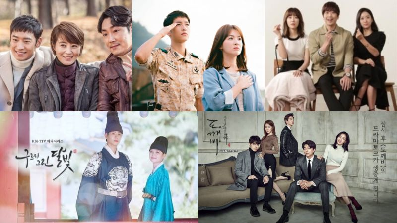 2016年出了好多好剧!从《Signal》、《太后》、《又,吴海英》、《云画》到《鬼怪》等等,你追过哪些呢?