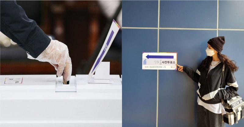 韓國第21屆國會議員選舉事前投票 26.7%史上最高的投票率