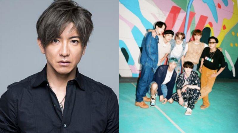 繼「球王」Messi之後,原本日本男神木村拓哉最近也常聽BTS防彈少年團的《Dynamite》!