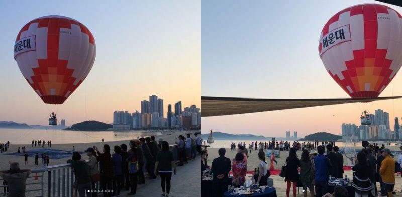 什麼!韓國釜山都可以坐熱氣球?